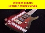 James Hetfield Stripes Guitar Vinyl decal