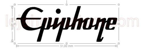 Epiphone Guitar Logo Sticker