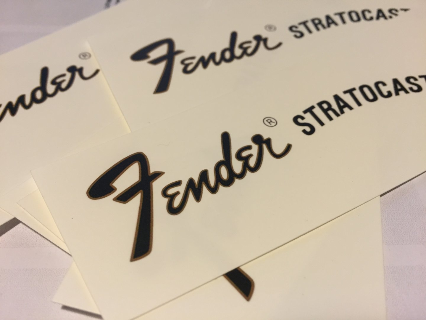 fender logo headstock decal bing images