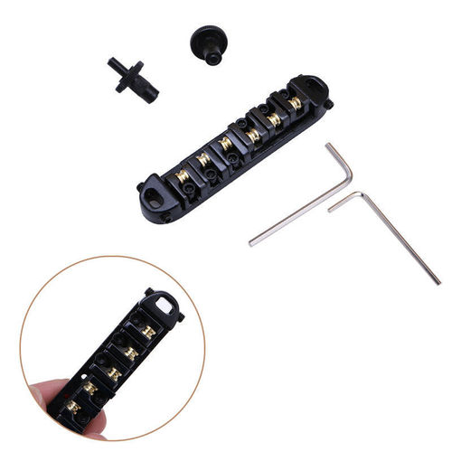 Ponte Roller Saddle Tune-omatic com travamento para  Guitarra