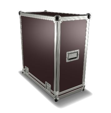 Guitar Cabinet EHV 5150 III 4 x 12 Flight Case