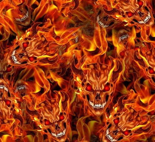 Skull Fire Pattern Ref Lrf010b Hmcustom Online Shop