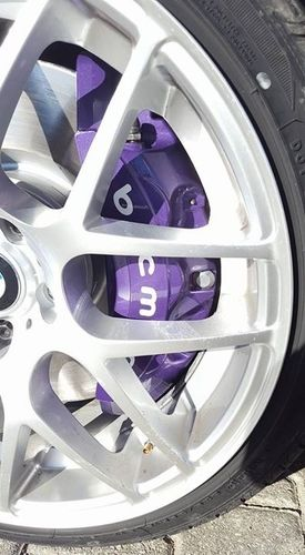 Kit 2 Brembo Car Brake Caliper Vinyl Sticker