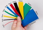 10 Size Assortment 2:1 Heat Shrink Tubing ( 259 PCS )