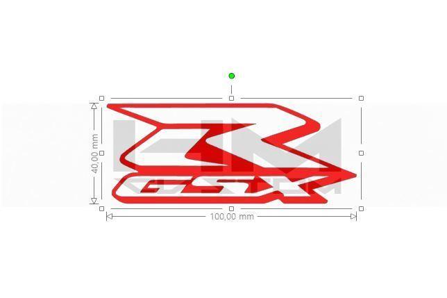 Suzuki GSX-R M02 Vinyl Sticker