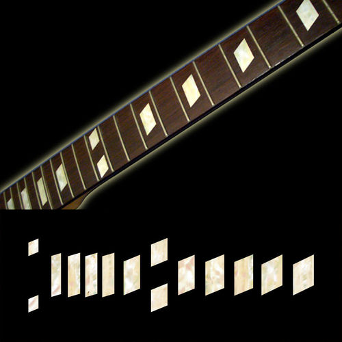 MOP Casino Trapez Fret Markers Block Inlay Sticker Guitar