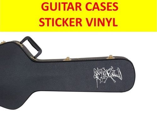 SLASH GUNS N ROSES STICKER SIGNATURE