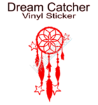 Dream Catcher Stars Vinyl Sticker