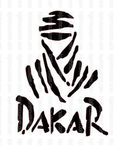 Dakar Vinyl Sticker