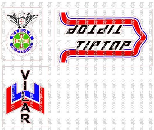 Set Stickers for Vilar TipTop