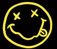 Nirvana Smile Vinyl Sticker