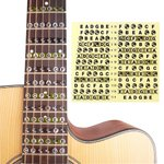 Fretboard Note Sticker Musical Scale Label for Acoustic or Electric Guitar