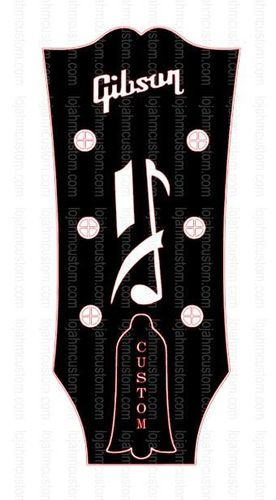 Gibson Howard Roberts Custom Headstock Logo