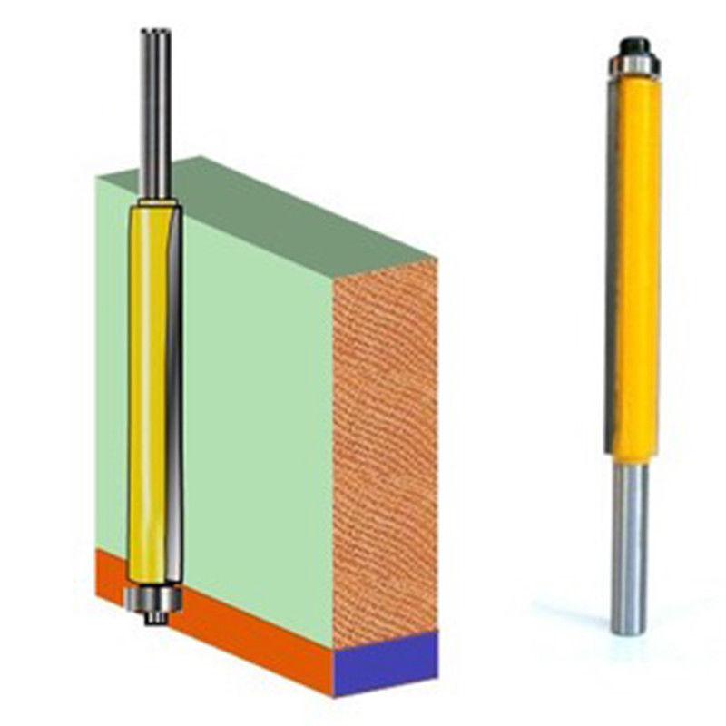 1//4/'/' Shank Top /&Bottom Bearing Flush Trim Router Bit For Woodworking