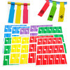150pcs ( 5 A4 Sheets ) Self-adhesive Cable Labels Identification