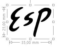 ESP Guitar Headstock Logo Decal Acoustic Restoration