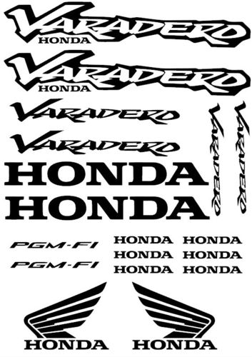 Honda Varadero Vinyl Sticker Kit