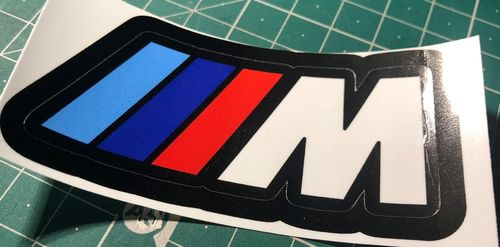 Bmw IIIM Logo Vinyl Sticker