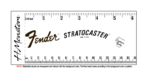 1970 Fender Stratocaster Headstock Logo Decal VS2