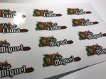12 Flag Blood and Name Tag Vinyl Sticker
