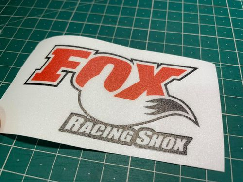 Fox RancingShox Vinyl Sticker