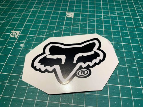 Fox Vinyl Sticker