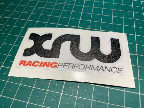 XRW RacingPerformance Vinyl Sticker